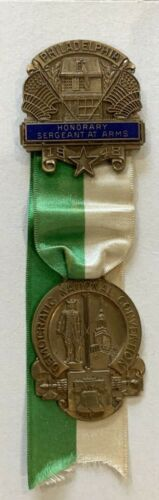 1948 Democratic National Convention Deputy HONORARY Sergeant At Arms  Badge