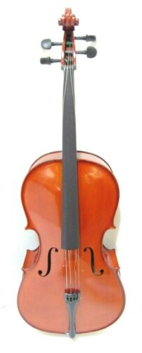 Student Plus Full Size Cello with Case by Gear4music-DAMAGED-RRP £349