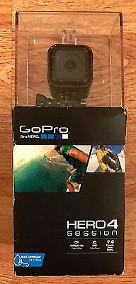 GOPRO HERO4 SESSION smallest/lightest gopro yet WIFI/BLUETOOTH 2 HR BATTERY NEW