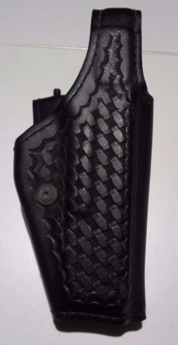 Safariland 200-83 Black Basketweave RH Duty Holster Fabulous Condition!