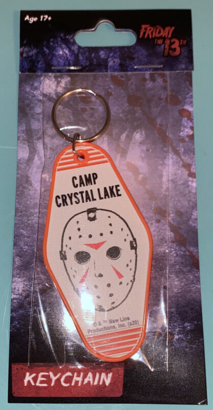 Friday The 13th JASON VOORHEES Hotel Room Keychain MOC