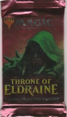 Magic The Gathering MTG THRONE OF ELDRAINE Collector Edition Booster FOIL PACK