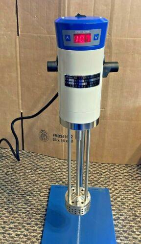 Laboratory High Speed Dispersing Homogenizer Emulsifier Cap 40L 200-11000r/pm