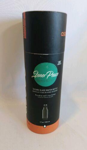 ASOBU 17-Ounce Inner Peace Glass Water Bottle w/ Wow Women o