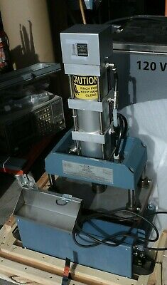 Janesville Tool A-5453-2-4pds 1-34 Ton Four Post 3 Stage Pneumatic Arbor Press