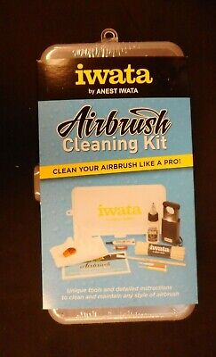 iwata Airbrush Cleaning Kit Clean & Maintain your Airbrush CL 100 Free Shipping (Cleaning Iwata Airbrush)