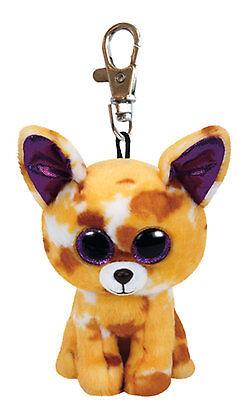 Ty Beanie Boo Baby Glubschi Clip Hund Pablo Schlüsselanhänger Anhänger 7135007