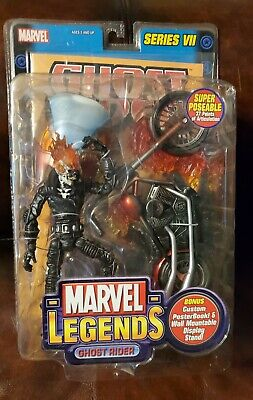 Marvel Legends GHOST RIDER Series VII 7 by Toy Biz - 2004 New Sealed Figure