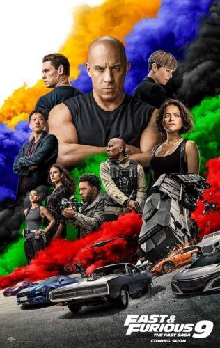 F9 Fast & Furious 9 - original DS movie poster 27x40 D/S 2020 INTL Adv B
