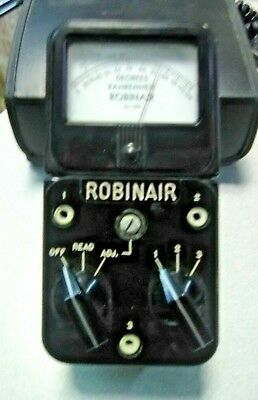 Vintage Simpson Electricrobinair Temperature Meter 12-139