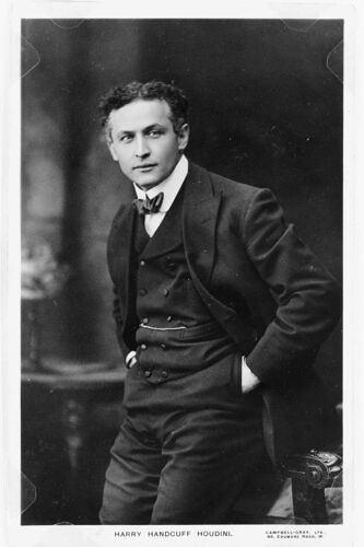 Vintage Magic Poster, Houdini Photo reproduction Prints High quality 067
