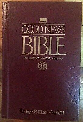 Good News Bible  Todays English Version  1992  Hardcover