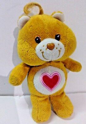 """Care Bear Tenderheart Bear Plush 8"""" 2008"""