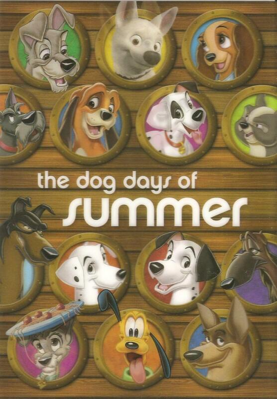 Disney - The Dog Days Of Summer - 3D Lenticular Collector Card - NEW