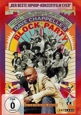 DVD NEU/OVP - Dave Chappelle's Block Party - Ein Film von Michel Gondry -