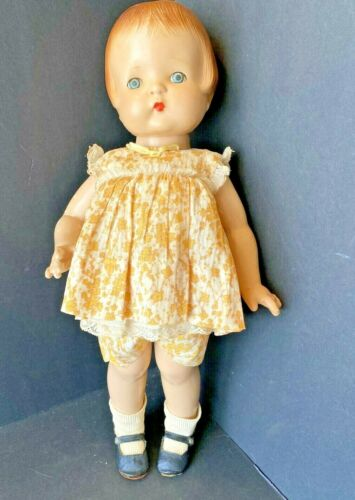 EFFANBEE VINTAGE PATSY ANN COMPOSITION DOLL ALL ORIGINAL 18""