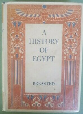 A History of Egypt - James Henry Breasted 1937 HC Fold-out (James Henry Breasted A History Of Egypt)