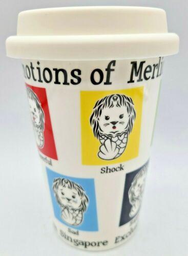 Exclusive From Singapore Merlion Emotions Of Merlion Ceramic Travel Mug