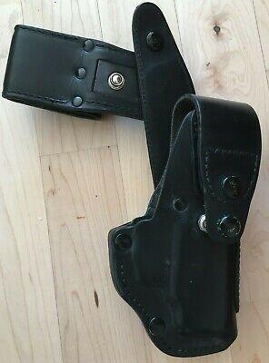 AKAH Polizei Holster NEU P8 P10 P30 USP P99 Zoraki 914 / 917 Leder schwarz gebraucht kaufen  Deutschland