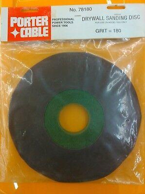 Porter Cable Drywall Sanding Disk. 78180 180 Grit.