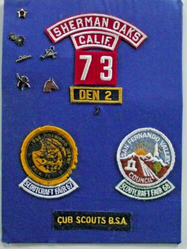 Cub Scout Patches And Pins 1960