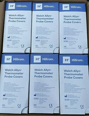 Welch Allyn Hillrom Probe Covers Suretemp 690 692 Thermometer 7500 Case 05031