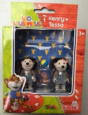 Leo Lausemaus Henry + Tessa Figuren Igel Ball Spielzeug aus TV (Mädchen Aus Star Wars)