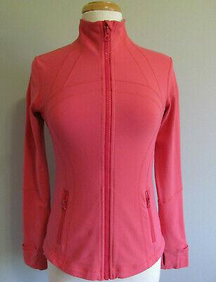 Lululemon Define Jacket Athletic Wear Pink  Women's Size 8