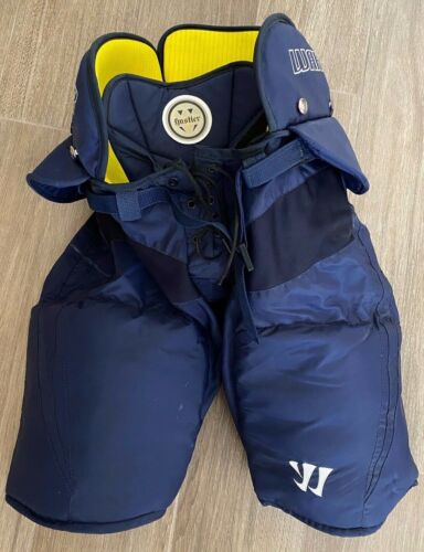 PRO STOCK WARRIOR Total Hockey Pants Navy Blue Sz M 32-34