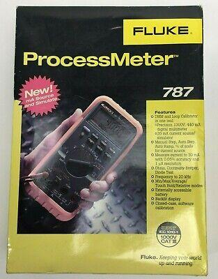 New Fluke 787 Processmeter Digital Multimeter