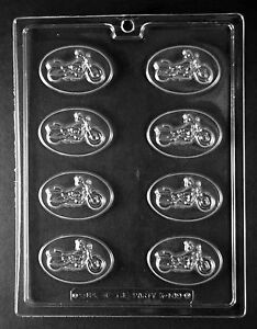 MOTORCYCLE MINT PIECES mold Chocolate Candy plaster candy molds harley davidson