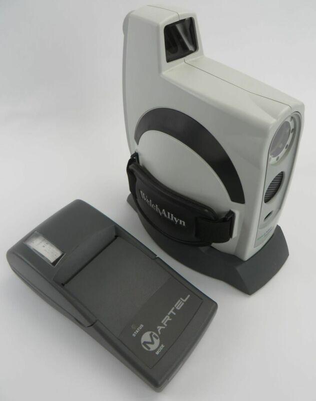 Welch Allyn 140 Series SureSight Vision Screener W/ Martel MCP8850B Printer