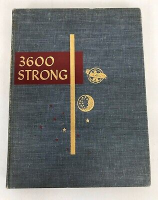 Vintage 3600 Strong WWII Commemorative Book