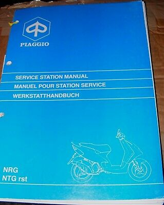 PIAGGIO NRG / NTG rst SERVICE STATION MANUAL