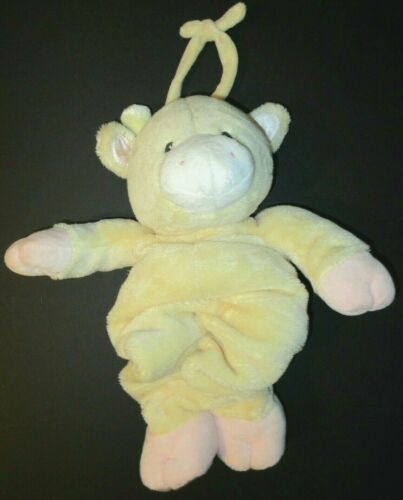 Baby Gund Musical Giraffe Yellow Pink Tender Beginnings Plush Crib Toy 59000