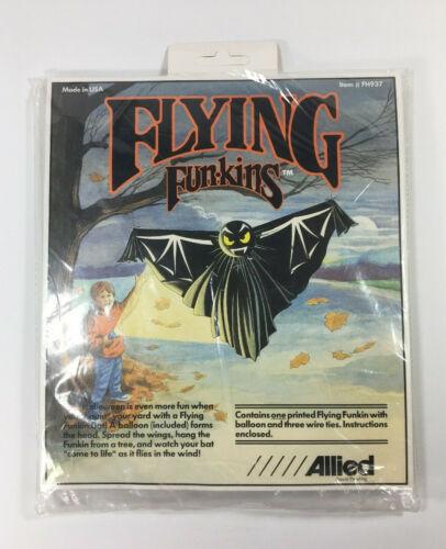Vintage 1992 Allied Flying Funkins Bat ~ Halloween Yard Decor  #FH937