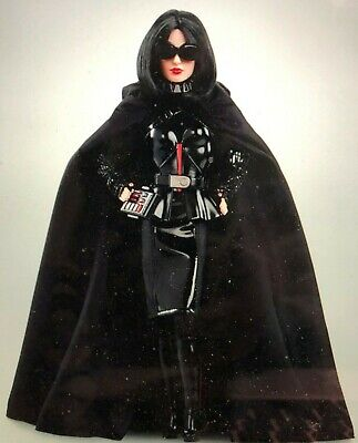 BARBIE STAR WARS DARTH VADER IN SHIPPER 2019 MINT ***********