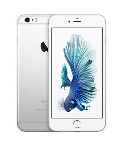 Apple Iphone 6s Plus 128gb Silver Unlocked A1634 Cdma Gsm