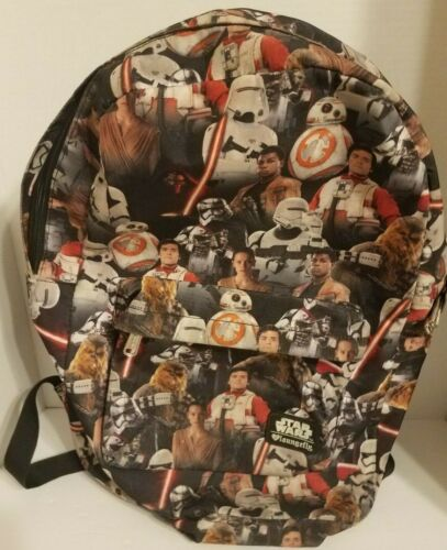 """Star Wars Characters Loungefly Backpack 18"""" x 15"""""""