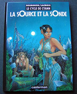 Le Cycle de Cyann, 1 & 2 EO - Bourgeon - Lacroix