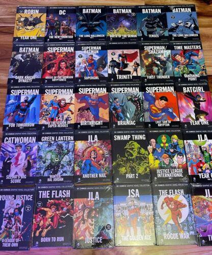 Eaglemoss DC Comics Graphic Novel Collection Hardcover Books TPB YOU PICK
