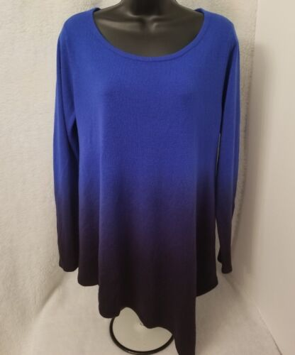 Motherhood Maternity Womens Blue Sweater Top Size L