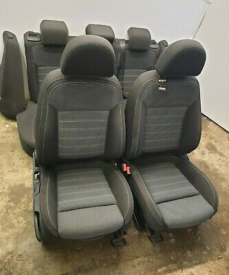 Vauxhall Insignia Mk1 2011 Black With White Stitching Seats