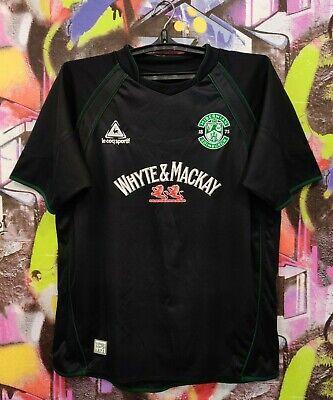 Hibernian FC 2007 2008 Away Scotland Football Shirt Soccer Jersey Top Mens M image