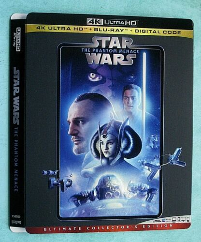 Star Wars 4k Blu ray slipcover (SLIPCOVER ONLY! NO MOVIE DISC!)