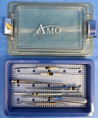 7 Piece W. Lorenz Depuy Lawton Maxillary Instrument Set W Case Ent Plastics