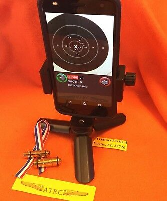 Laser Training -  9 mm & 45 ACP Laser Training (Trainer) Bullet Ammo Cartridge with phone tri-pod