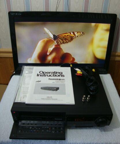 PANASONIC AG-1970 S-VHS, AG-1970P, Nice,  Guarantee. - VCR Recorder / Player.