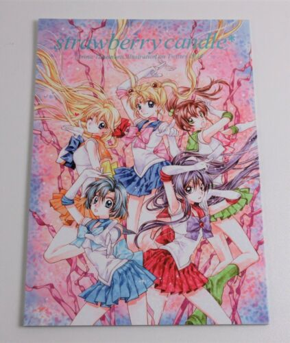 """strawberry candle"" Arina Tanemura Sailor Moon ILLUSTRATION Art Book Doujinshi"