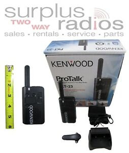 KENWOOD PROTALK LT PKT-23 UHF 4CH 1.5W BUSINESS RETAIL RADIO ULTRA LIGHTWEIGHT